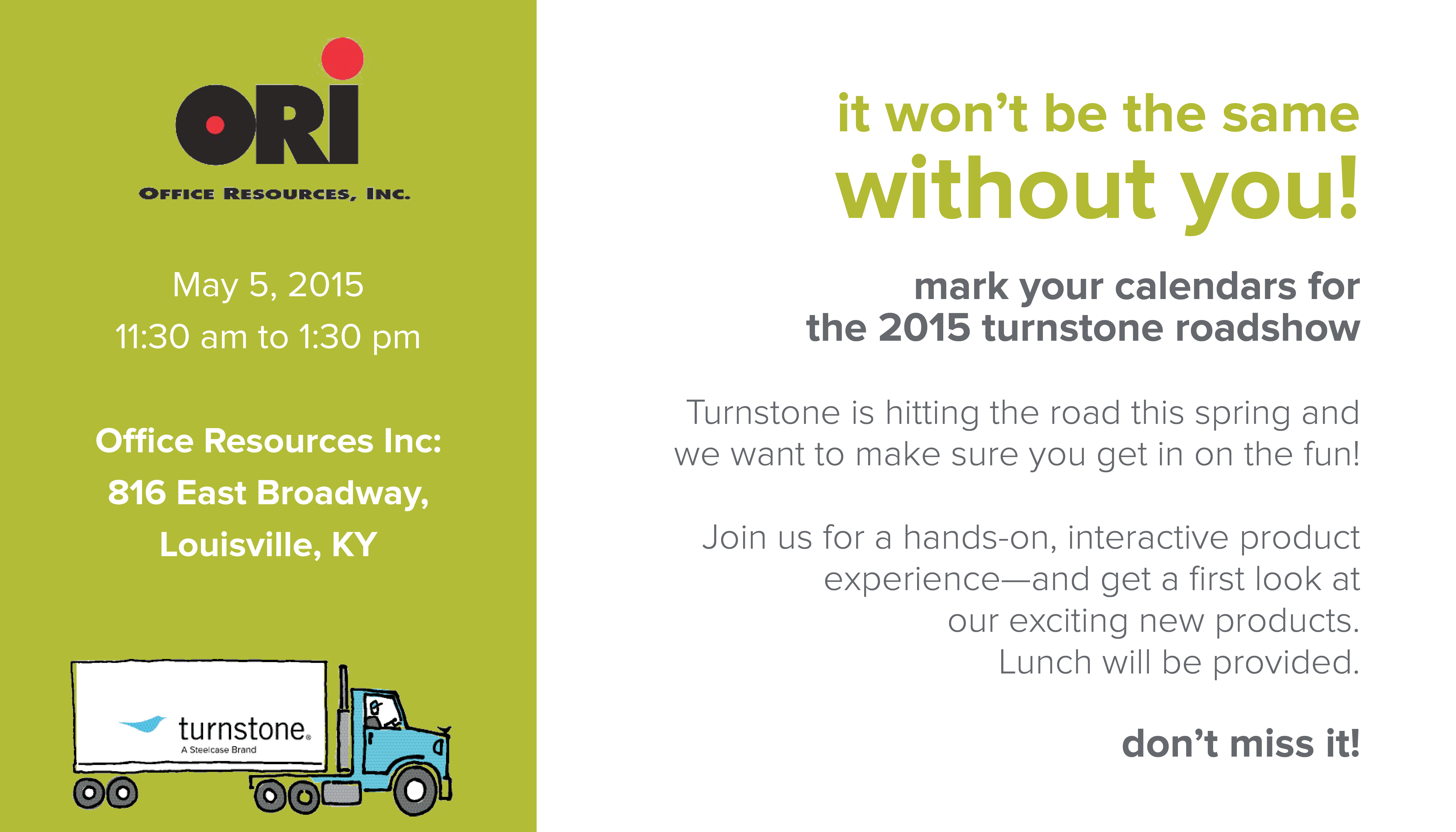Turnstone Roadshow