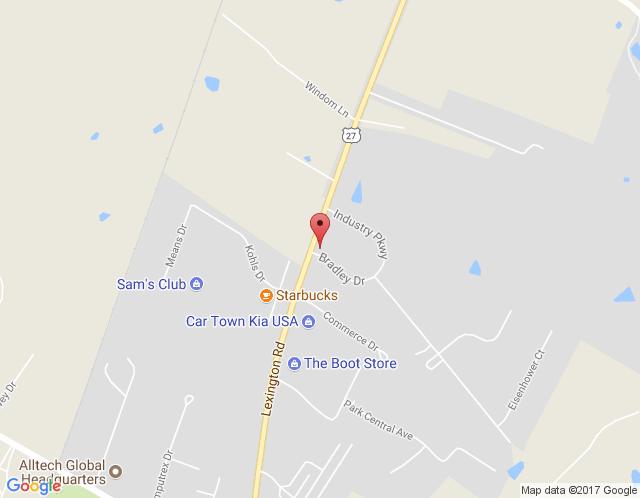 Map of Nicholasville / Lexington